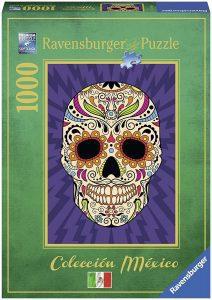 Puzzles de máscaras mexicanas del día de los muertos - Puzzle de máscaras mexicanas del día de los muertos de 1000 piezas