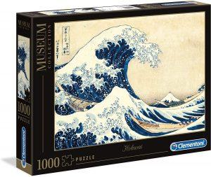 Los mejores puzzles de Japón - Puzzle de 1000 piezas de Hokusai La Gran Ola