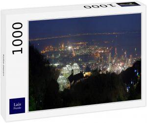 Los mejores puzzles de Japón - Puzzle de 1000 piezas de Kobe en Japón de Lais