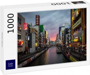 Los mejores puzzles de Japón - Puzzle de 1000 piezas de Osaka en Japón de Lais