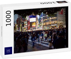 Los mejores puzzles de Japón - Puzzle de 1000 piezas de Tokio de noche en Japón de Lais