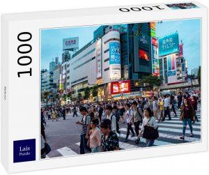Los mejores puzzles de Japón - Puzzle de 1000 piezas de Tokio de paso de cebra en Japón de Lais