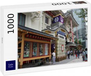 Los mejores puzzles de Japón - Puzzle de 1000 piezas de calles de Tokio en Japón de Lais