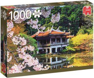 Los mejores puzzles de Japón - Puzzle de 1000 piezas de jardín japonés