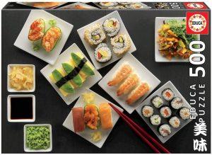 Los mejores puzzles de Japón - Puzzle de 500 piezas de sushi