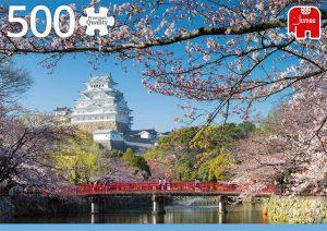 Los mejores puzzles de Japón - Puzzle de 500 piezas del Castillo de Himeji