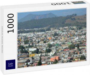 Los mejores puzzles de México - Puzzle de 1000 piezas de Cholula Puebla de México de Lais