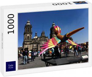 Los mejores puzzles de México - Puzzle de 1000 piezas de Ciudad de México de Lais 2