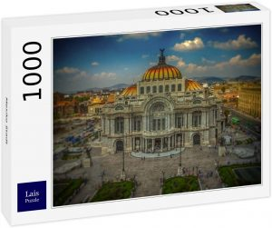 Los mejores puzzles de México - Puzzle de 1000 piezas de Ciudad de México de Lais