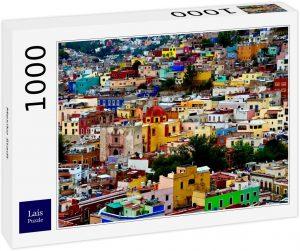 Los mejores puzzles de México - Puzzle de 1000 piezas de casas de Ciudad de México de Lais