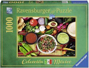 Los mejores puzzles de México - Puzzle de 1000 piezas de comida mexicana