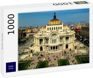 Los mejores puzzles de México - Puzzle de 1000 piezas del Palacio de Bellas Artes de Ciudad de México de Lais