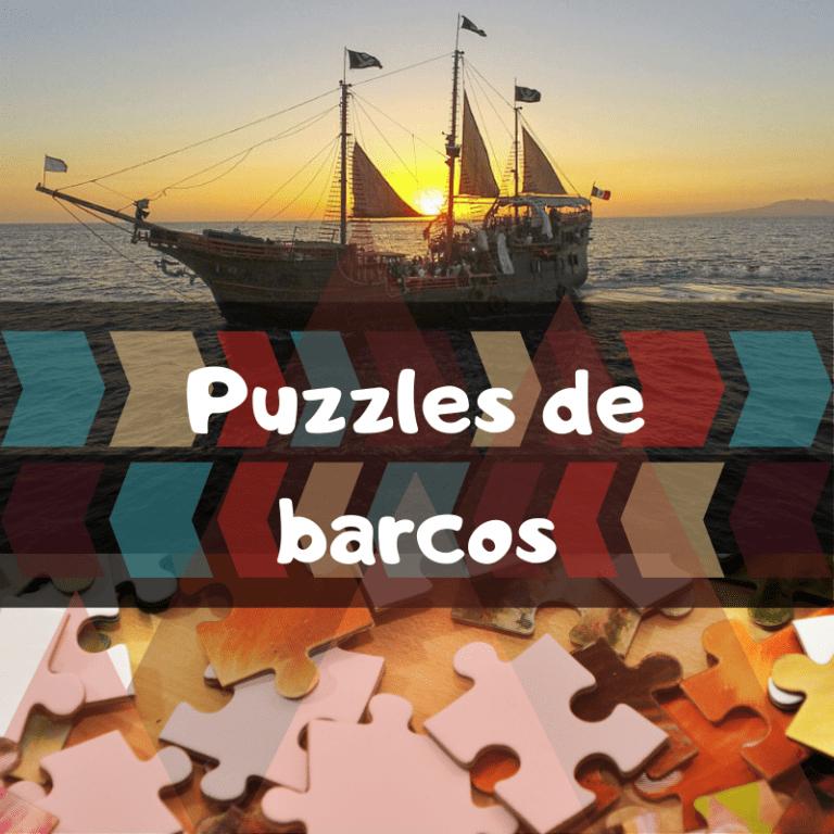 Los mejores puzzles de barcos