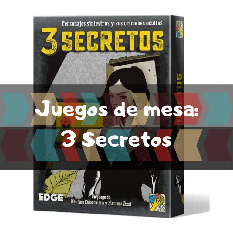 Comprar 3 Secretos