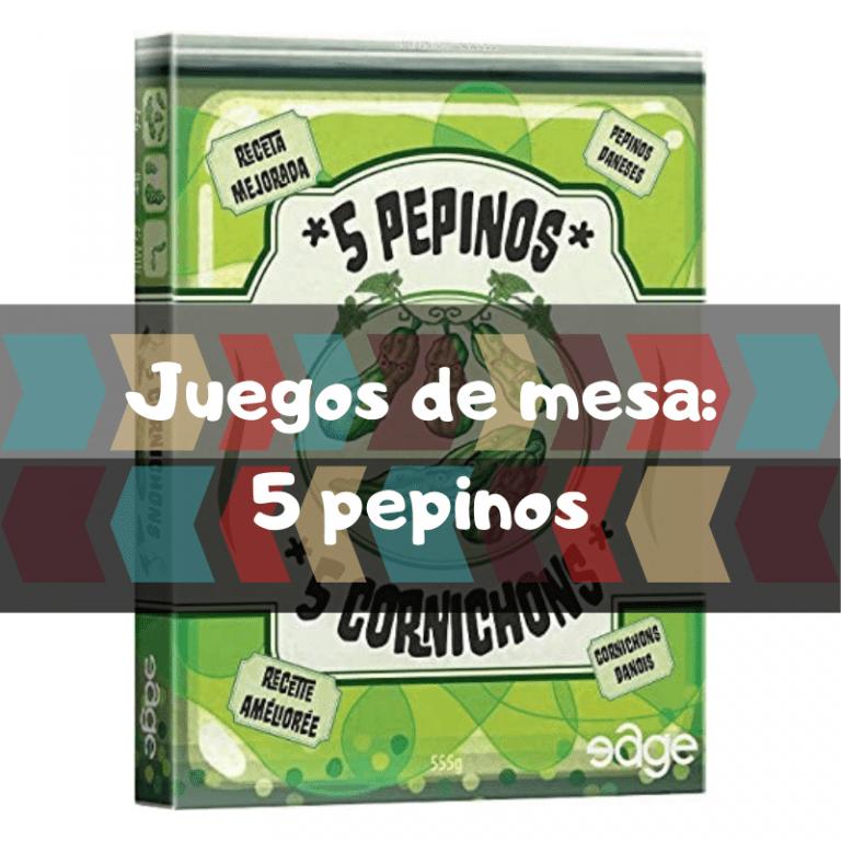 Comprar 5 pepinos