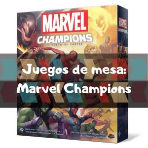 Comprar Marvel Champions - Juegos de mesa de cartas y aventuras
