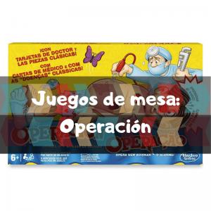 Comprar Operación - Juegos de mesa de habilidad