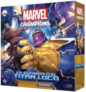 Expansión de Marvel Champions de La Sombra del titán Loco