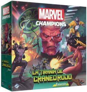 Expansión de Marvel Champions de La Tiranía de Cráneo Rojo