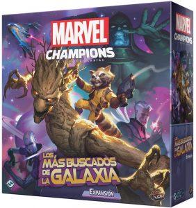 Expansión de Marvel Champions de Los más buscados de la Galaxia