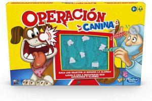 Juegos de mesa de Operación Canina de Hasbro para niños