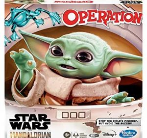 Juegos de mesa de Operación de The Mandalorian de Hasbro para niños