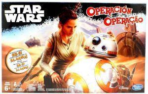 Juegos de mesa de Operación de Star Wars de Hasbro para niños