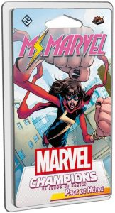 Juegos de mesa de cartas de Marvel Champions. Pack de héroe de Ms Marvel