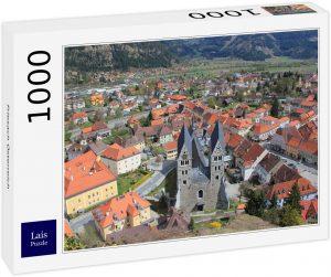 Los mejores puzzles de Austria - Puzzle de 1000 piezas de Friesach en Austria de Lais
