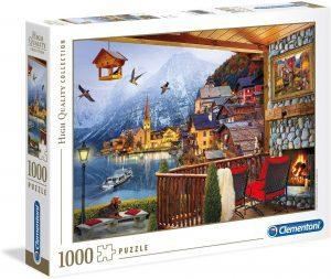 Los mejores puzzles de Austria - Puzzle de 1000 piezas de Hallstatt en Austria de Clementoni