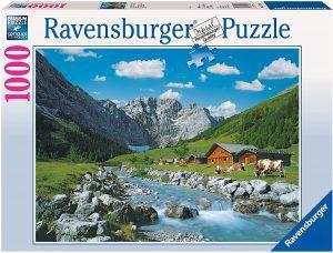 Los mejores puzzles de Austria - Puzzle de 1000 piezas de Monte Karwendel en Austria de Ravensburger