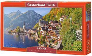 Los mejores puzzles de Austria - Puzzle de 4000 piezas de Hallstatt en Austria de Castorland