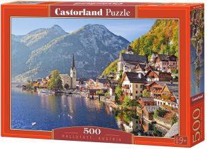Los mejores puzzles de Austria - Puzzle de 500 piezas de Hallstatt en Austria de Castorland