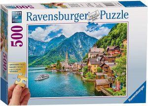 Los mejores puzzles de Austria - Puzzle de 500 piezas de Hallstatt en Austria de Ravensburger