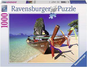 Los mejores puzzles de Tailandia - Puzzle de 1000 piezas de playa en Tailandia de Ravensburger