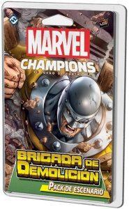 Pack de escenario de Brigada de Demolición de Marvel Champions El Juego de Cartas