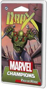 Pack de héroe de Drax de Marvel Champions El Juego de Cartas
