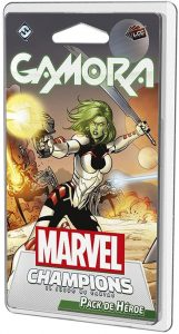 Pack de héroe de Gamora de Marvel Champions El Juego de Cartas