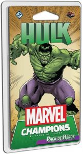 Pack de héroe de Hulk de Marvel Champions El Juego de Cartas