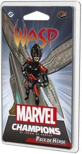 Pack de héroe de La Avispa de Marvel Champions El Juego de Cartas