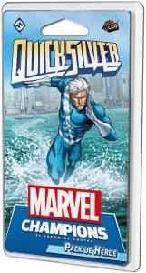 Pack de héroe de Quicksilver de Marvel Champions El Juego de Cartas