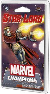 Pack de héroe de Star Lord de Marvel Champions El Juego de Cartas