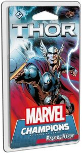 Pack de héroe de Thor de Marvel Champions El Juego de Cartas