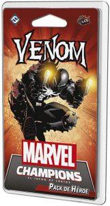 Pack de héroe de Venom de Marvel Champions El Juego de Cartas