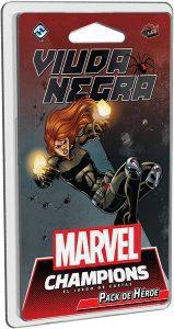 Pack de héroe de Viuda Negra de Marvel Champions El Juego de Cartas