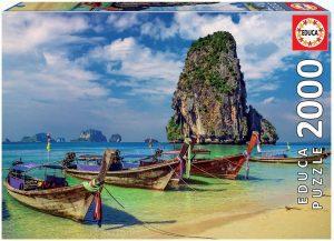 Puzzle de Krabi de Tailandia de 2000 piezas - Los mejores puzzles de Tailandia - Puzzles de países