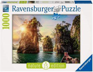 Puzzle de Tailandia de 1000 piezas de Ravensburger - Los mejores puzzles de Tailandia - Puzzles de países