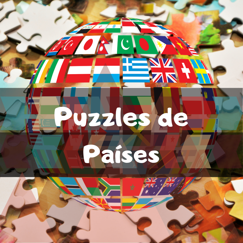 los mejores puzzles de Países - Puzzle de Países del mundo