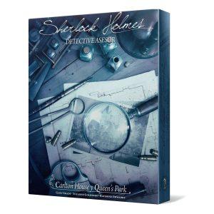 Carlton House y Queens Park - Juegos de mesa de Sherlock Holmes