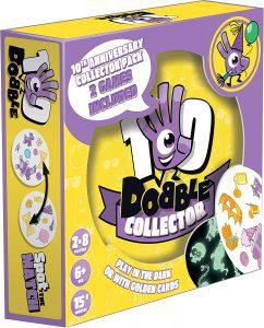 Dobble de 10 Aniversario Oscuridad - Juegos de mesa de Dobble - Los mejores juegos de mesa de cartas de Dobble
